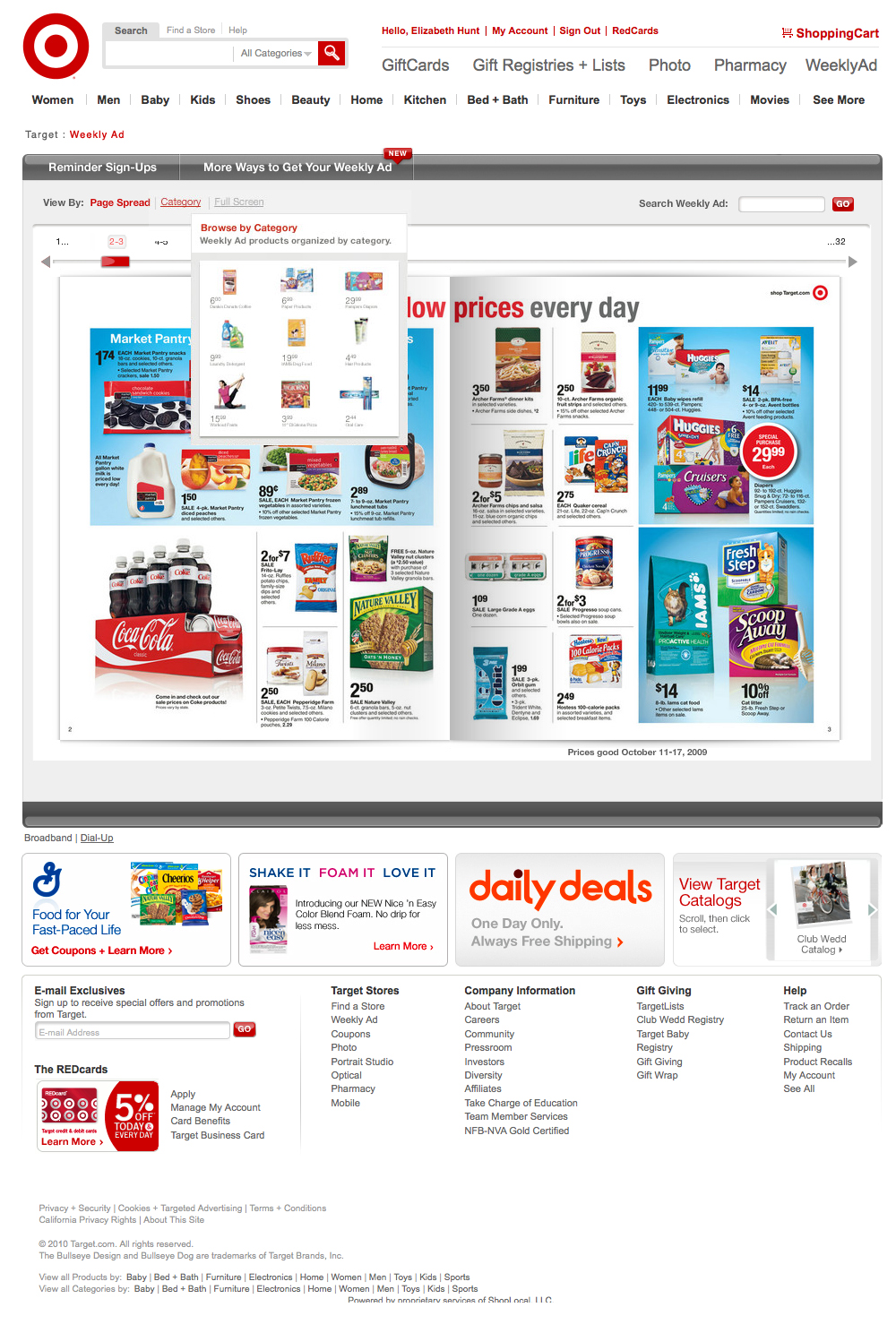 Browse by Page Spread