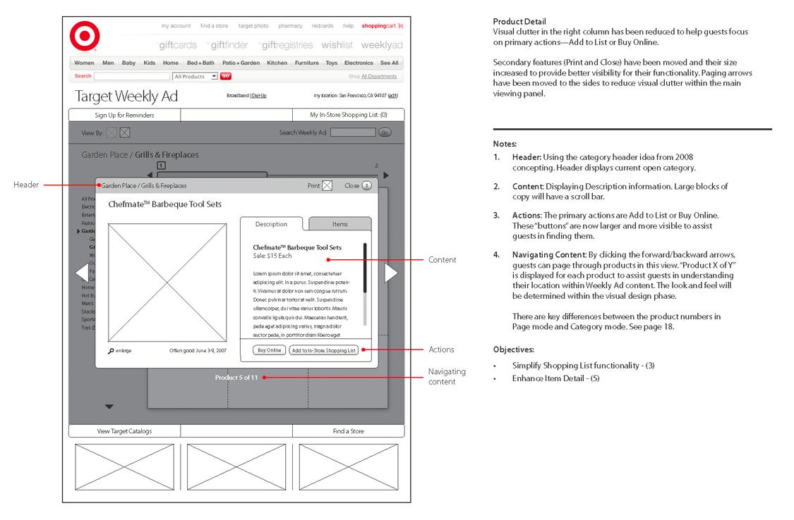 UX - Multiple Item Product Set - Description