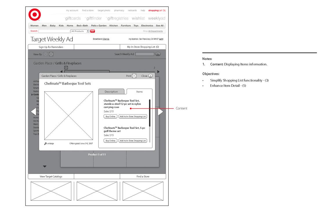 UX - Multiple Item Product Set - Items